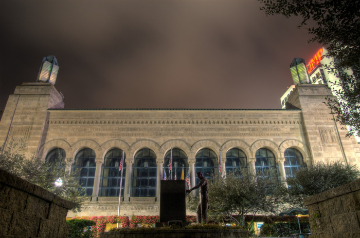 7. Be mesmerized by the 3D light show at Boardwalk Hall.