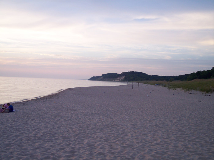 10. And then take a stroll by the beach.