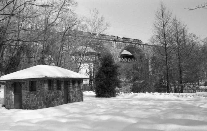 5. I bet the view from the train atop this bridge over the Brandywine was breathtaking.