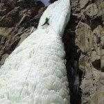 3. Ice Climbing In Cody