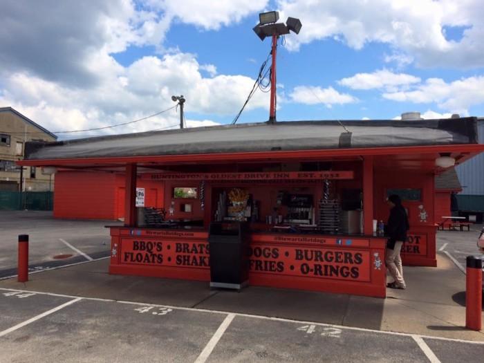 2. Stewart's Hotdogs Drive-thru