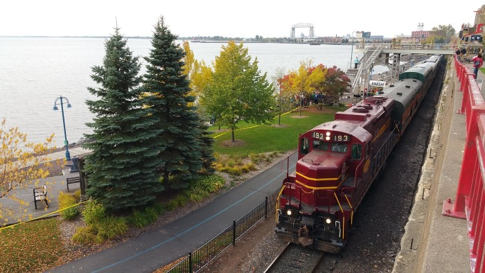 4. North Shore Scenic Railroad - The Duluth Zephyr