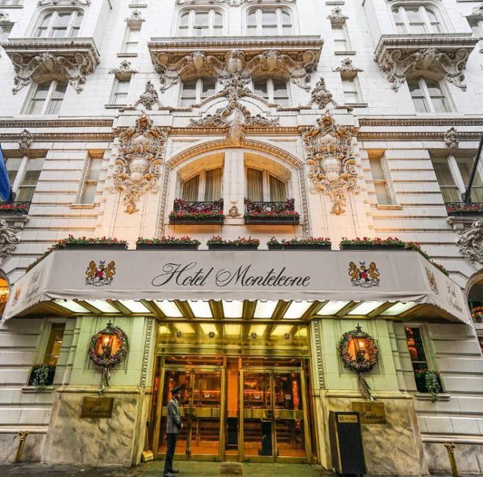 4) Hotel Monteleone, 214 Royal St.