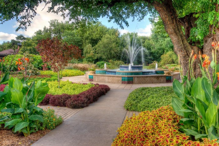 14. Strolling the blooms at Botanica, The Wichita Gardens.