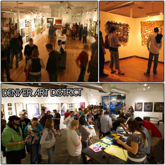 4.) Admire local talent at a First Friday Art Walk.