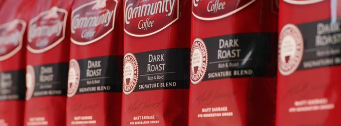 1. Start the day with a heaping up of Community Coffee.