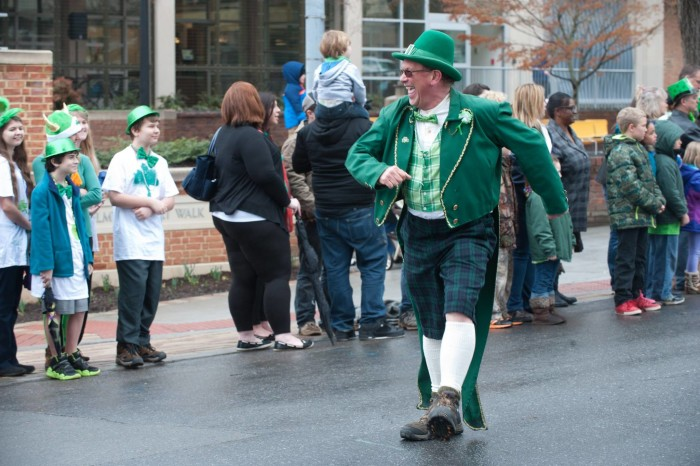 1. St. Patrick's Day Parade and Shamrock Festival