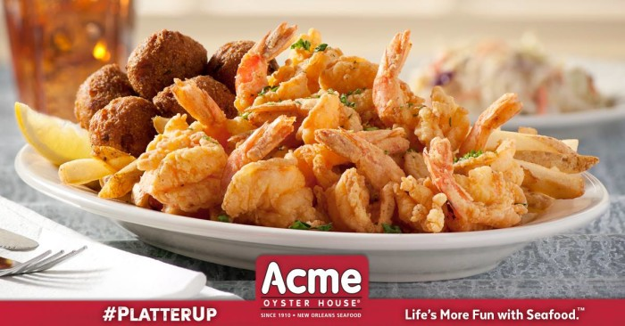 16) Fried Seafood Platter from Acme Oyster House