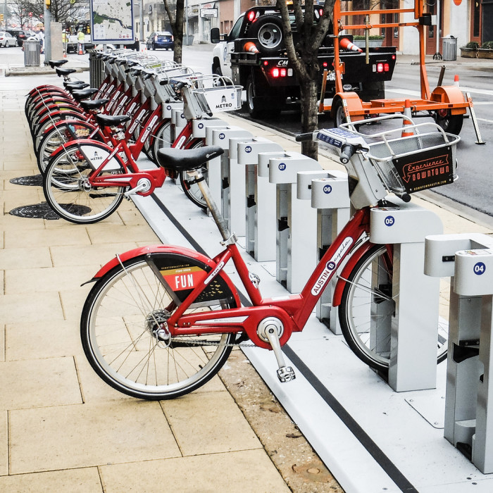 6. Take yourself and a date on a biking tour of Austin. Rent one of these and roll those wheels wherever you please.