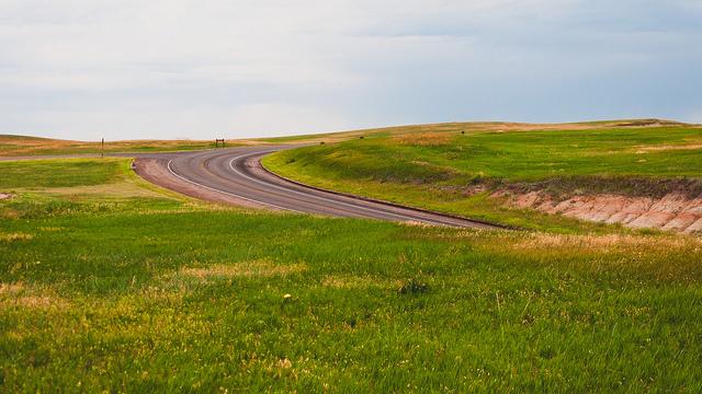 2. The wide open prairie.