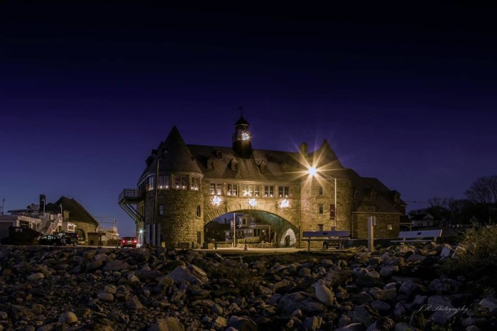 8. The Coast Guard House in Narragansett sets up amazing photos at all times of day.