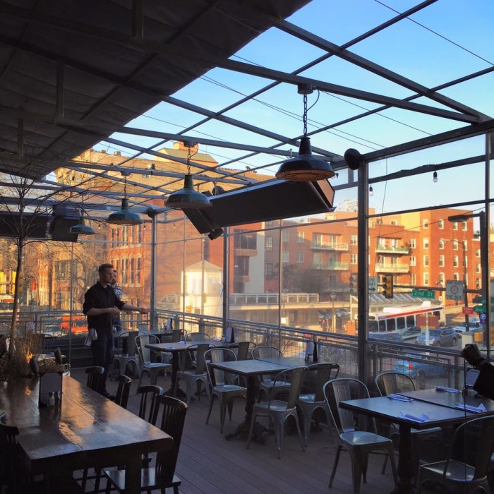 8 Restaurants With Rooftop Dining In Pennsylvania