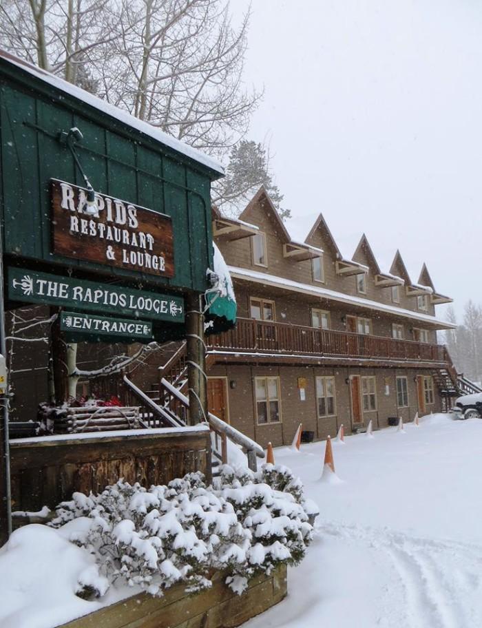 2. Rapids Lodge and Restaurant (Grand Lake)