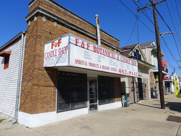 1) F&F Botanical Shop, 801 N. Broad St.