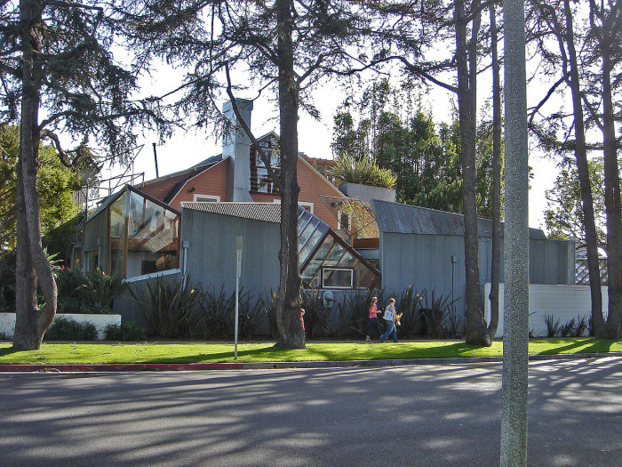 4. The Gehry Residence in Santa Monica