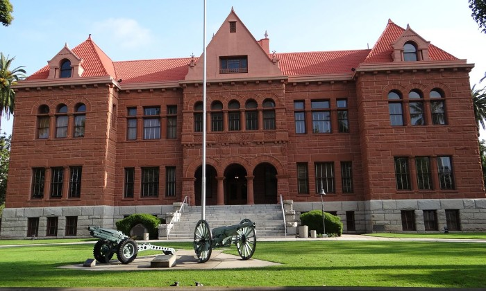 2. Tour the Old Orange County Courthouse Museum in Santa Ana