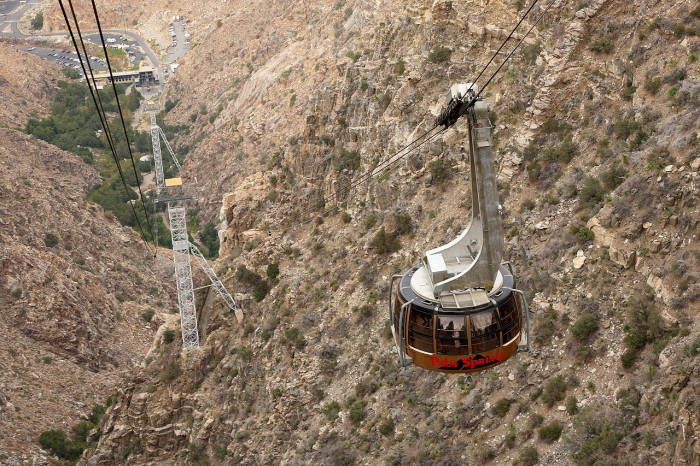 3. The Palm Springs Aerial Tramway