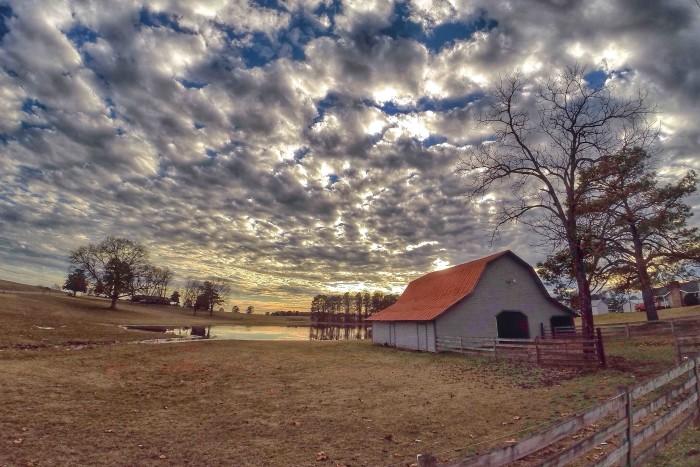 2) Barns of Cullman County