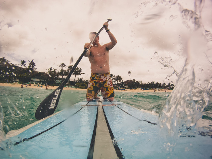 13. Go stand up paddle boarding (SUP).