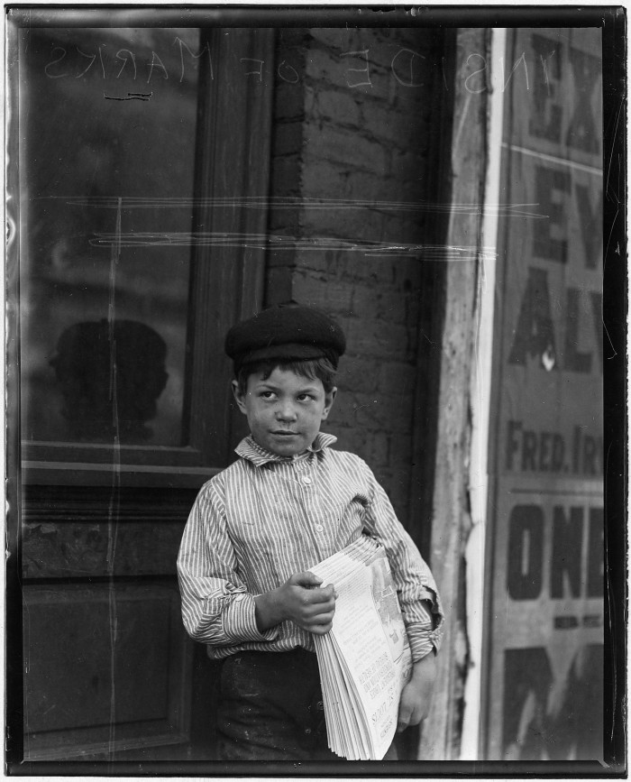 13.Eight-year-old Joe Smith, St. Louis, May 1910.