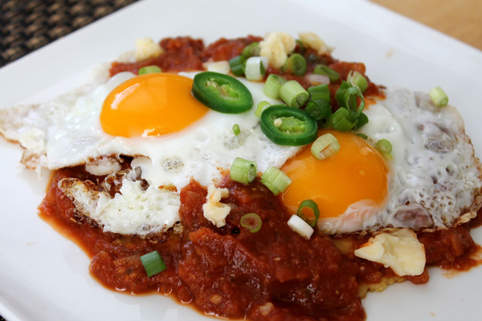 5. Huevos rancheros