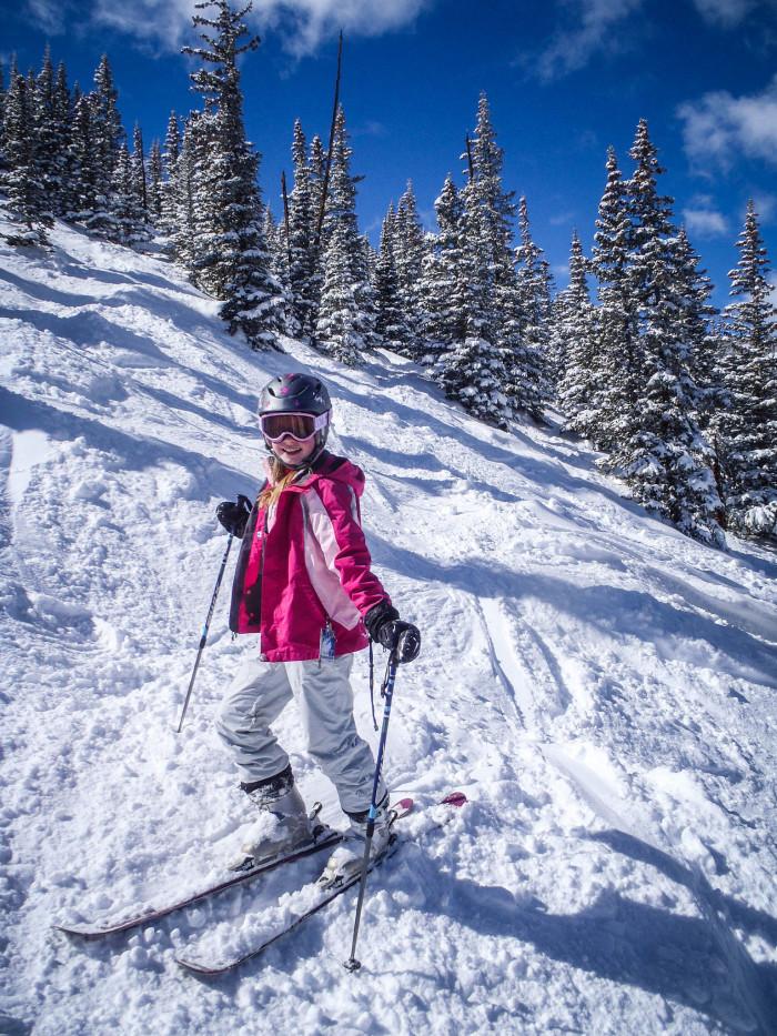 12.) We were taught to ski in utero.
