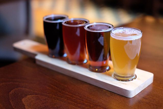 5. Local brewing companies are scattered across the state.