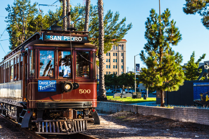 4. Port of Los Angeles Waterfront Red Car Line