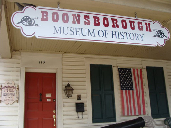 3. Boonsborough Museum of History, Boonsboro