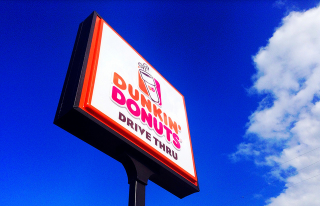 13. You've given directions based on the location of Dunkin Donuts, or stores that no longer exist.