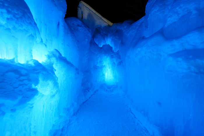 9. The Ice Castles in Lincoln will leave you feeling as if you're in the ice age.