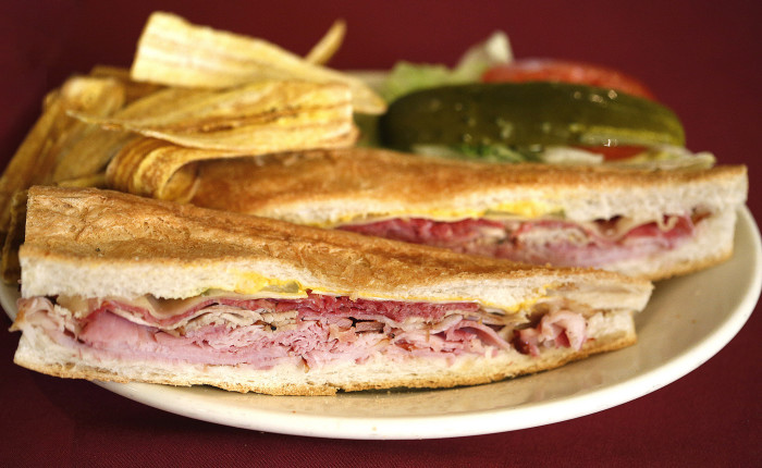 Grab one of our famous Cuban sandwiches for lunch.