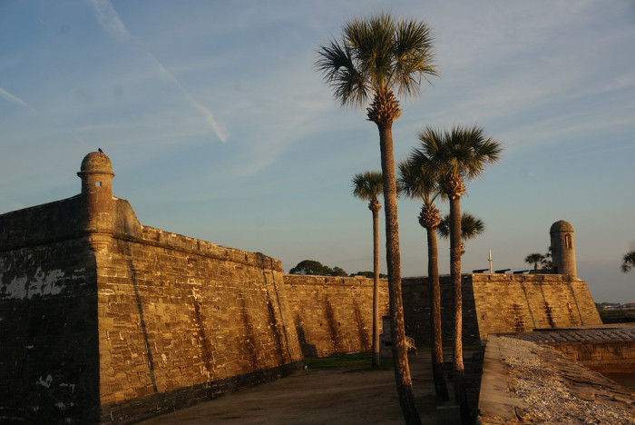 9. Do you recognize this, the oldest masonry fort in the continental United States?