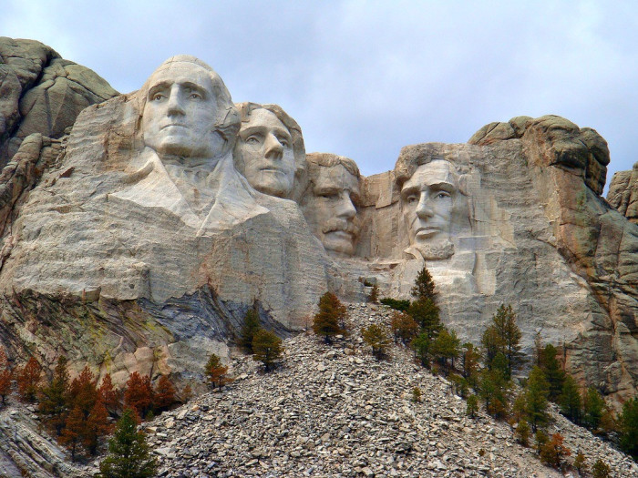 43. Mount Rushmore, South Dakota. Touring the USA without seeing the heads of our founding fathers would just be a disgrace.