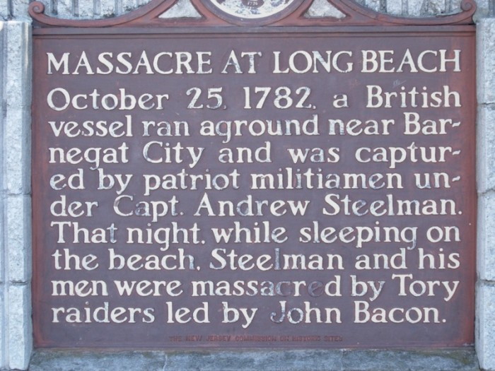 6. Beautiful Long Beach Island was home to a bloody massacre back in 1782.