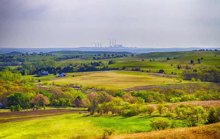 8. ...and hiking the Flint Hills...