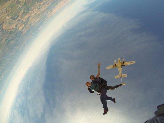6. Byron: Skydiving