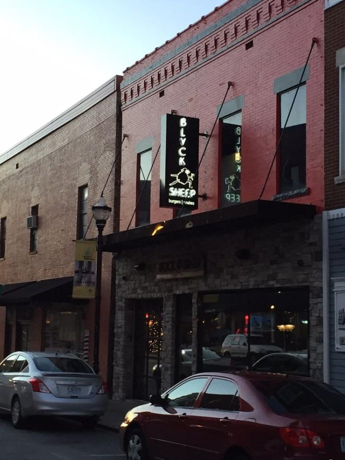 14.Black Sheep Burgers and Shakes, Springfield