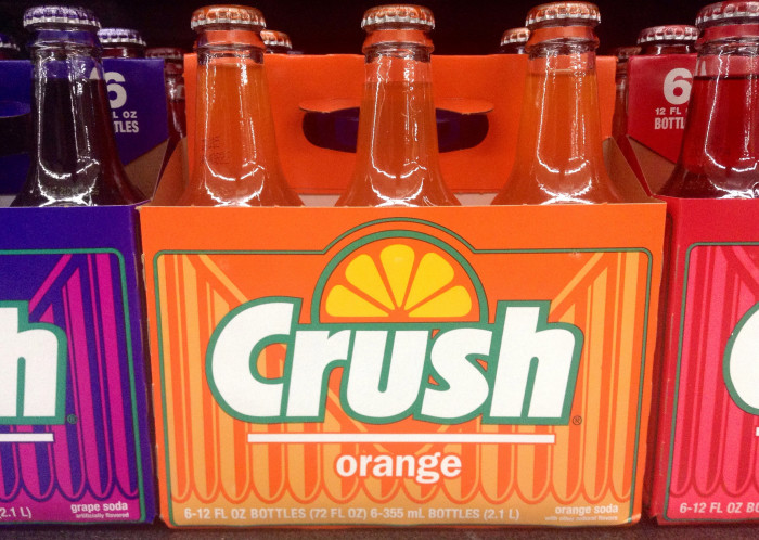5. They order an orange crush in Maryland and expect to receive this...