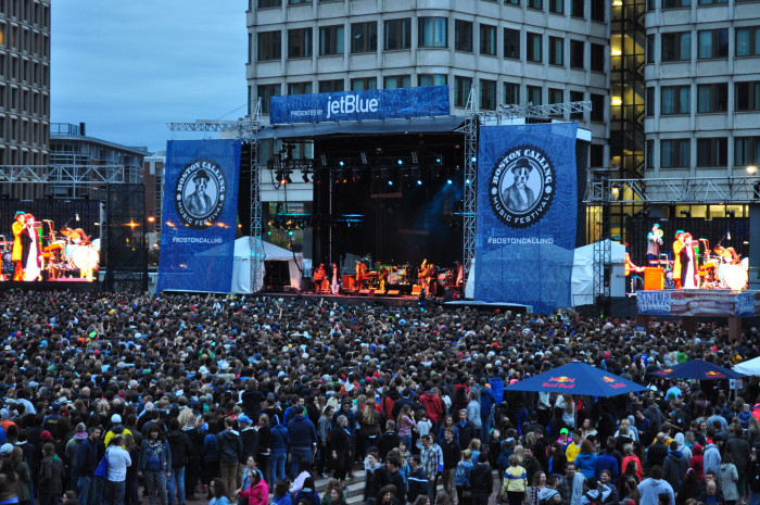 4. Go to Boston Calling music festival.
