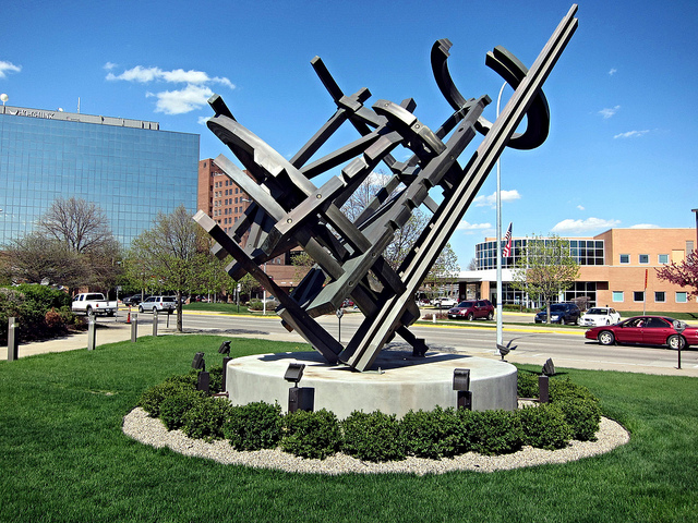 9. Admire the art at the Sioux City Art Center.