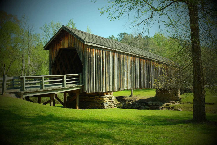 2. Auchumpkee Creek Covered Bridge — Culloden, GA 31016