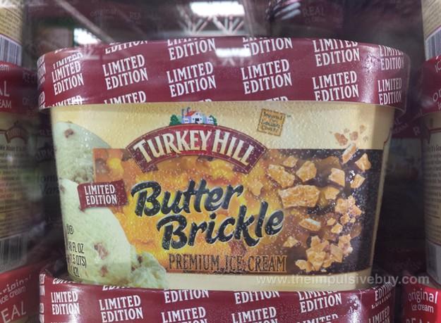 11. Butter brickle ice cream