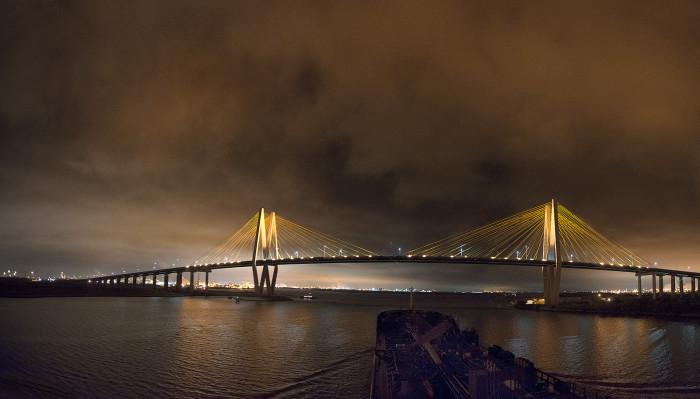 8. Fred Hartman Bridge (Baytown)