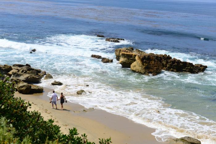 9. Long walks on the beach