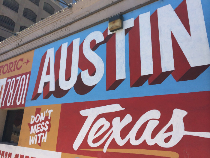 5. They're most likely a tourist if the first place they want to go is Austin...