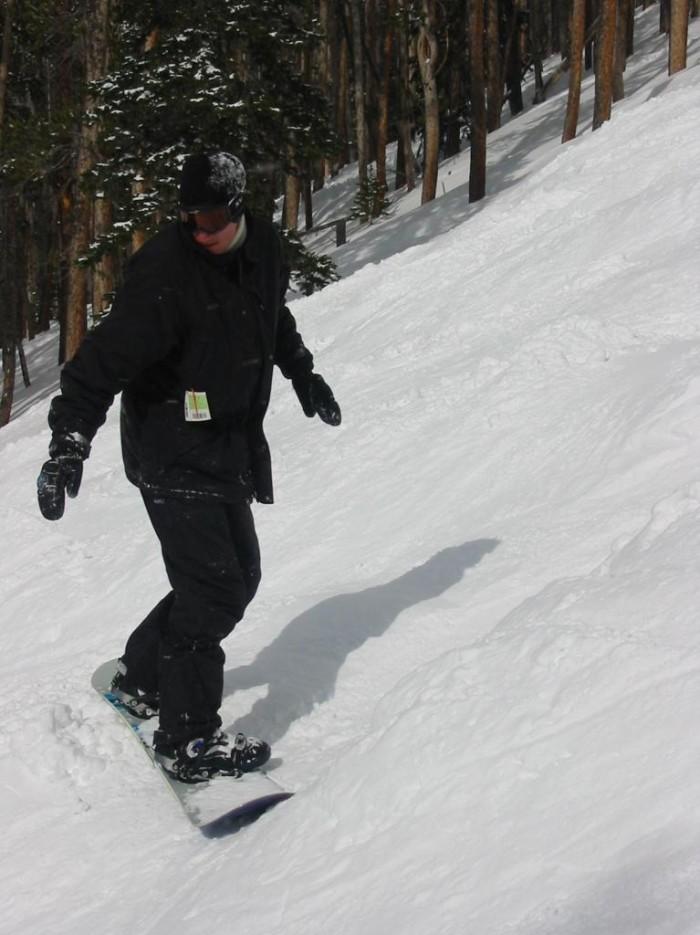 6. ...snowboarding...