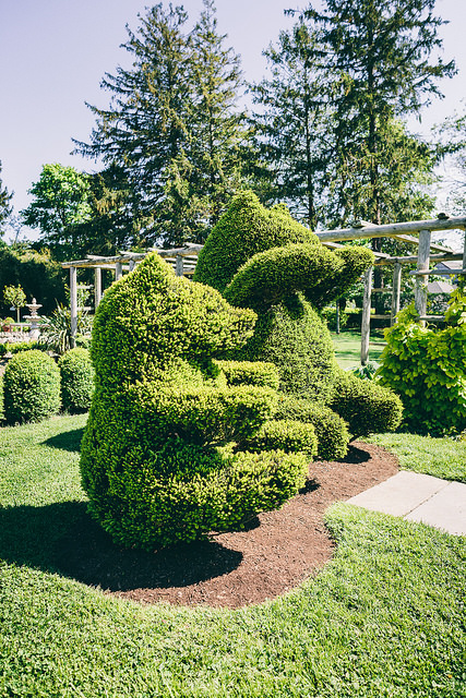 2. Green Animals Topiary, Portsmouth