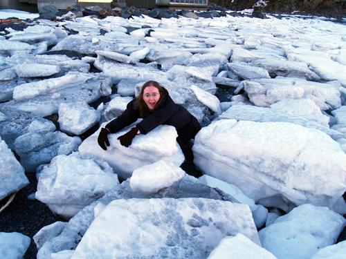 1. Breaking the ice.