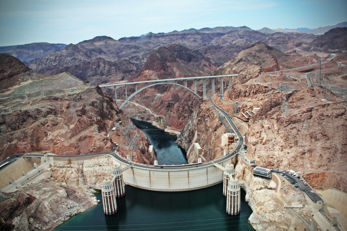 7. Every U.S. state helped furnish materials for the construction of Hoover Dam.